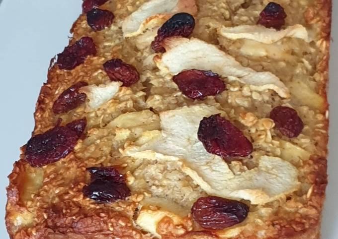 Cakes aux pommes et fruits secs sans farine