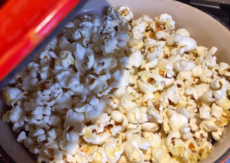 Salted Olive Oil Popcorn
