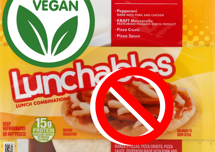 Steps to Prepare Quick Vegan Lunchable Pizza (Adults)