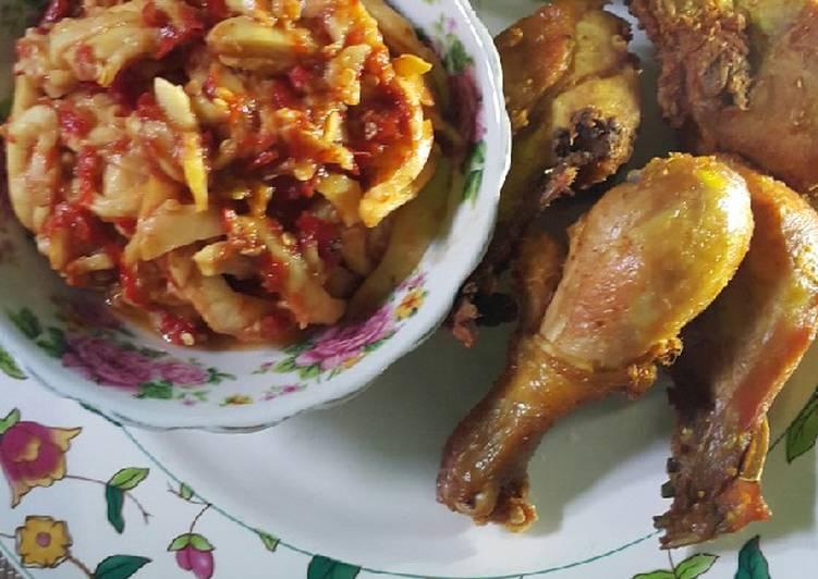 Sambel Ayam Goreng Buah Kemang