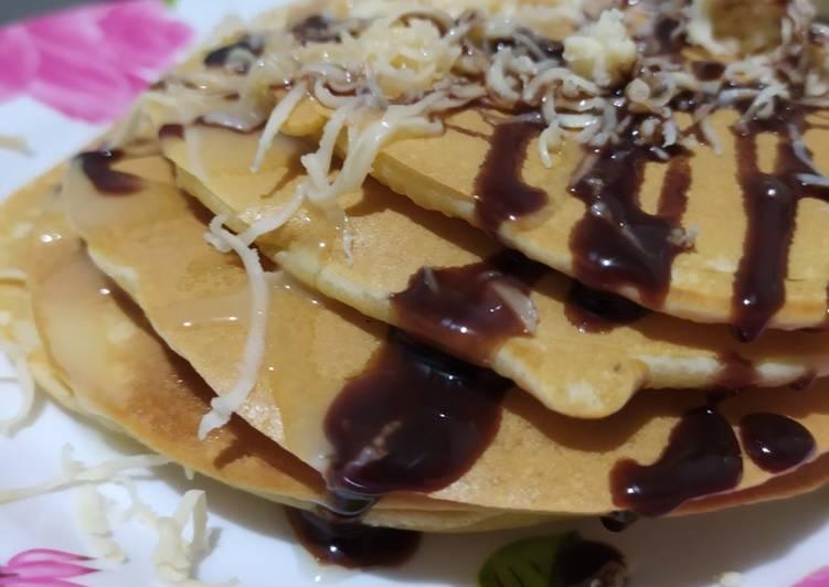 Pancake susu keju