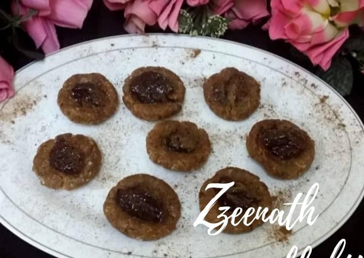 Parle-G Thumbprint Cookies (No Bake)