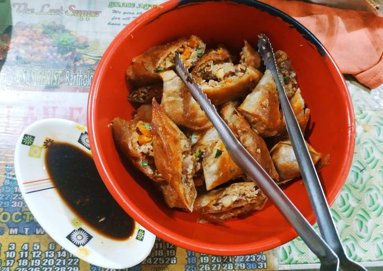 Recipe of Speedy Lumpiang Shanghai (Pork Dumplings)