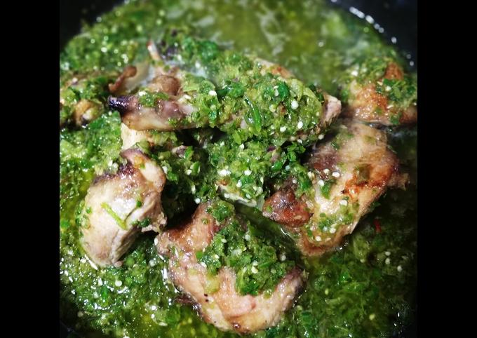 Ayam Balado Hijau