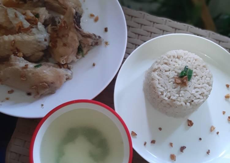 Resep 28. Nasi Ayam Hainan Bikin Manjain Lidah