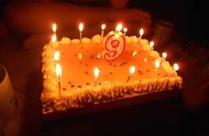 Tháng sinh nhật ? Làm bánh sinh nhật- bánh kem chanh leo