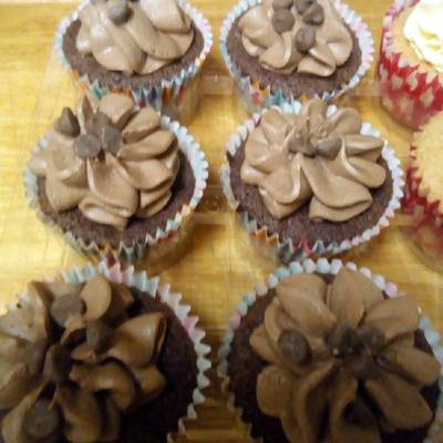 Chocolate Orange Fairy Cakes