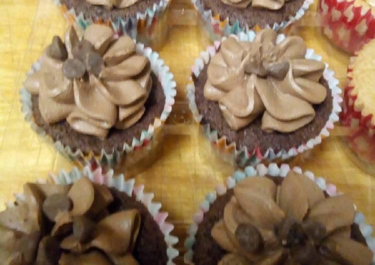 Chocolate Orange Fairy Cakes Recipe By The Baking Nursedeb