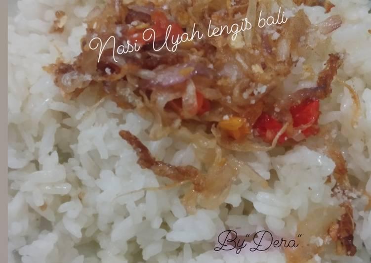 Nasi Uyah Lengis Bali