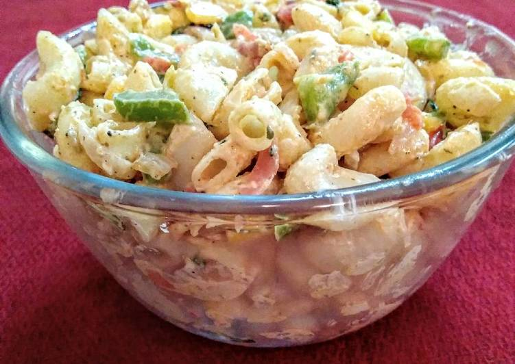 Easy macaroni salad for kids