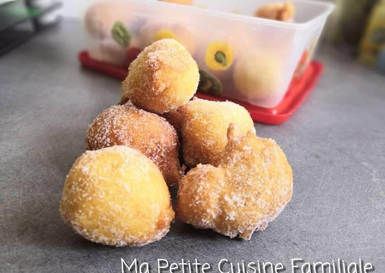 Püpperchen, petits beignets alsaciens