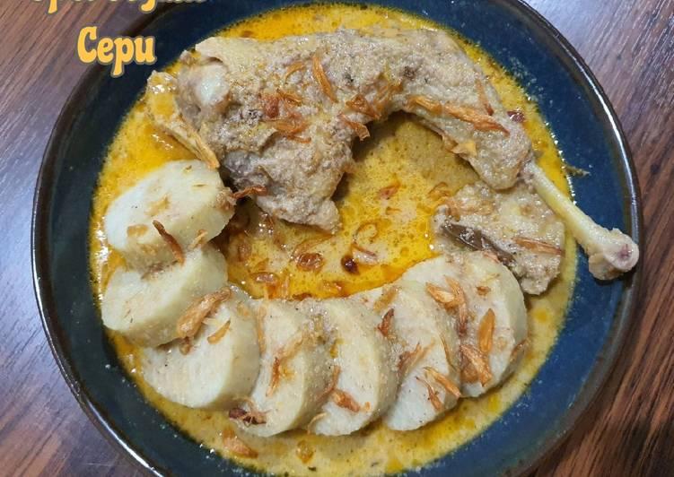 Opor Ayam Cepu