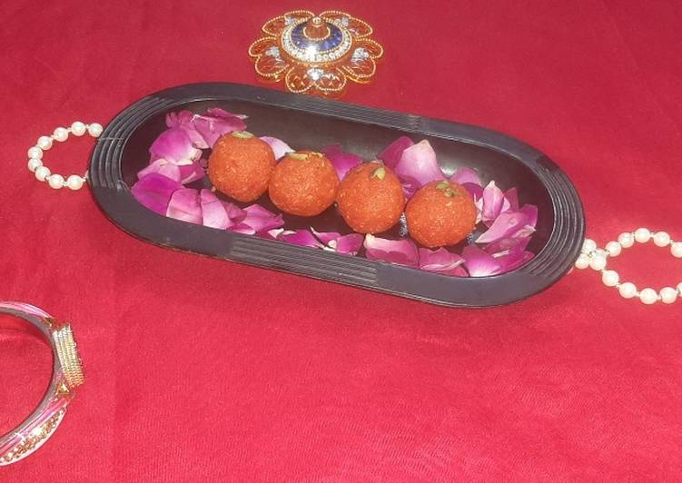Recipe of Perfect Papaya ladoo Low calorie Motichur ladoo