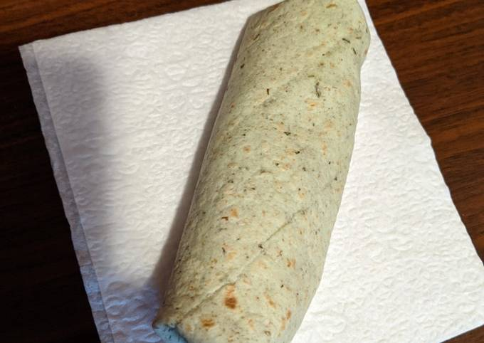 How to Prepare Super Quick Homemade Quick and Easy Breakfast Wrap