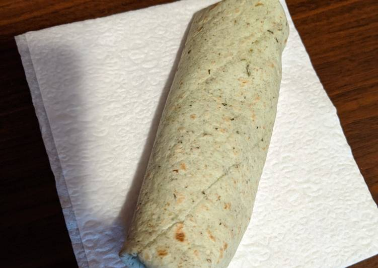 Quick and Easy Breakfast Wrap