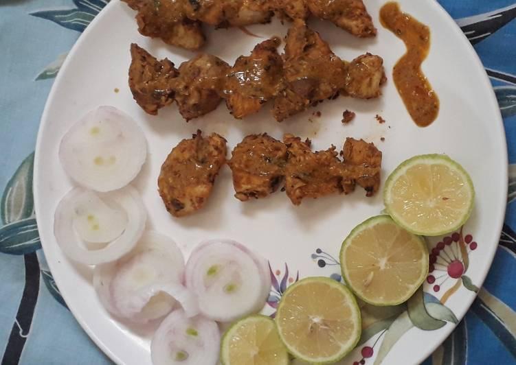 Butter chicken tikka