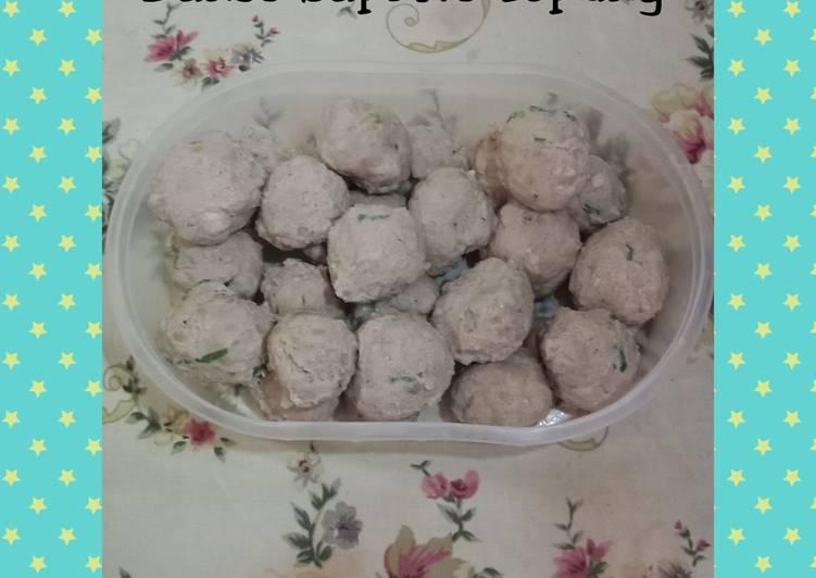 Cara membuat Bakso Sapi Untuk Diet No Tepung