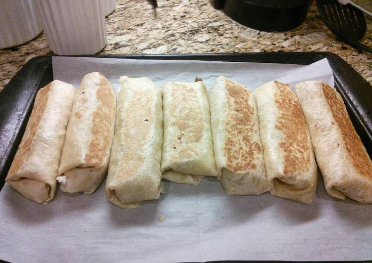 Recipe of Favorite Burrito Crunch Wraps