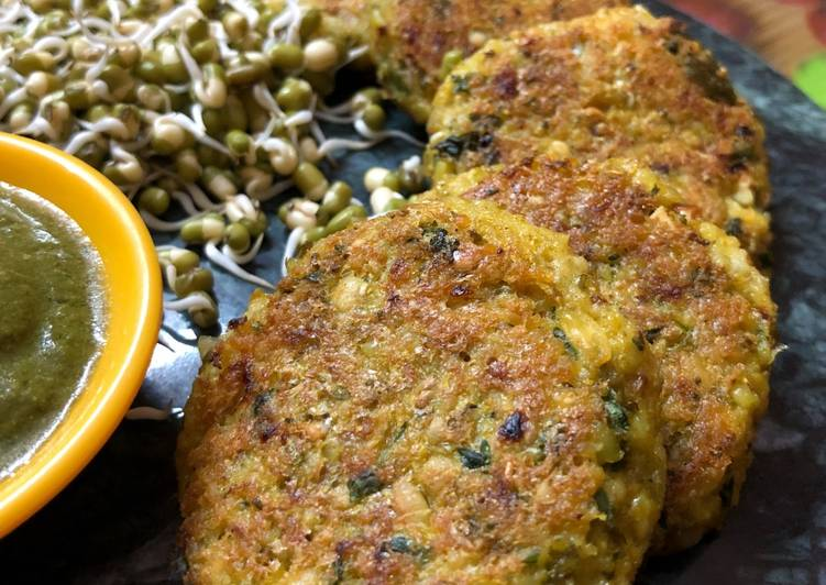25 Minute Recipe of Spring Sprouts Oats Cutlets