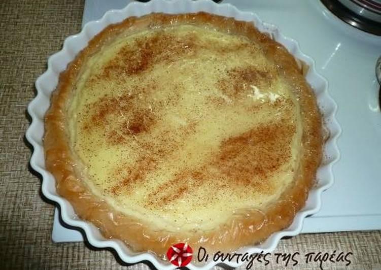 Steps to Prepare Homemade Poupeki (semolina custard pie)