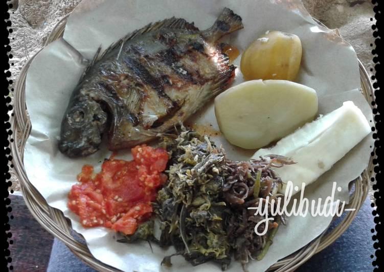 Ikan Bakar Baronang ala Sorong