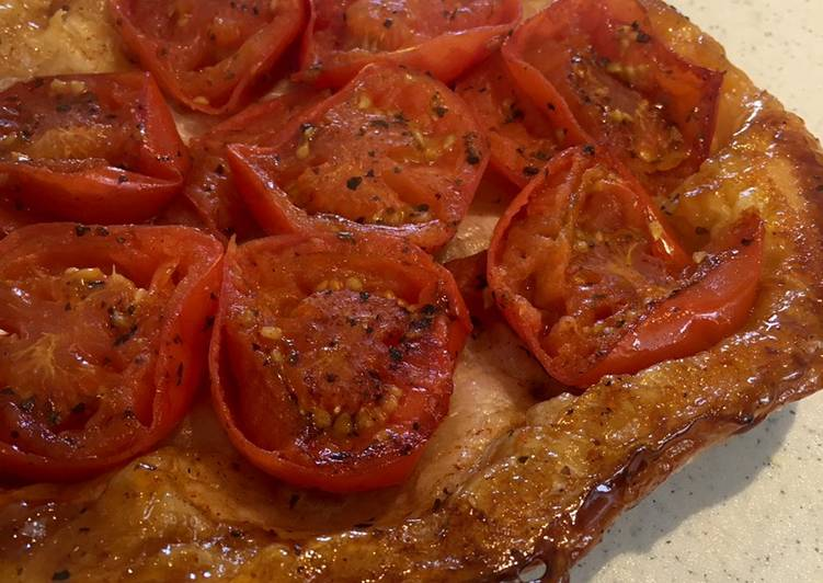 Easiest Way to Make Homemade Gluten Free Tomato Tarte Tartin