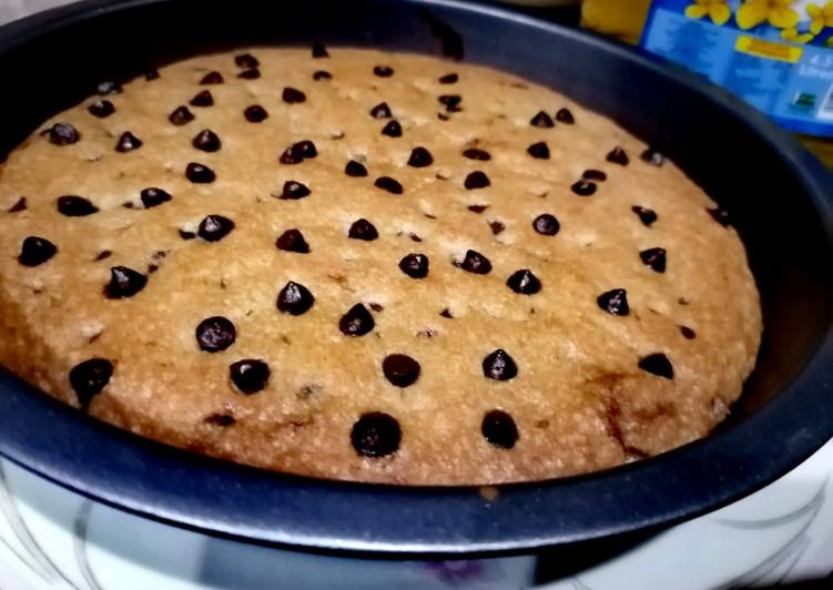 How to Prepare Top-Rated Nutella stuffed chocolate chip cookie skillet
