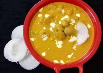 How to Make Appetizing Matar mushroom masala