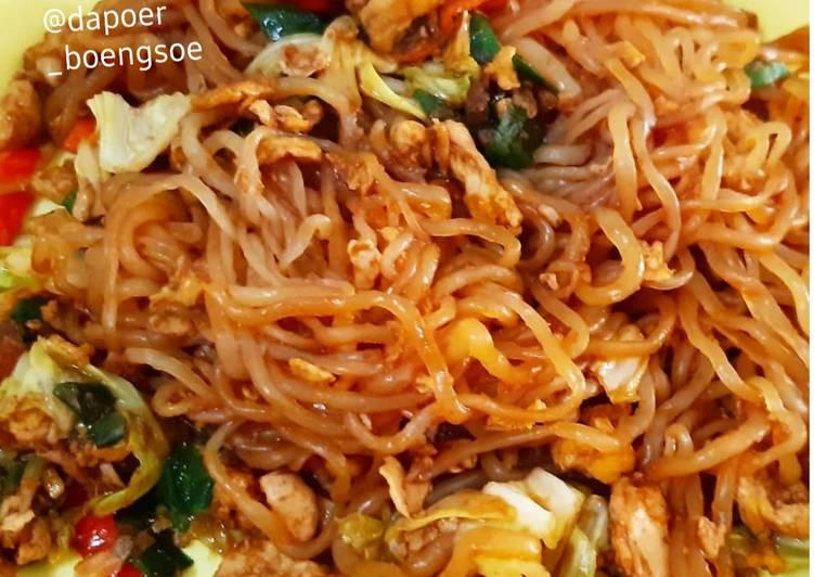 Mie Goreng Shirataki (Diet Keto/Low Carbo)