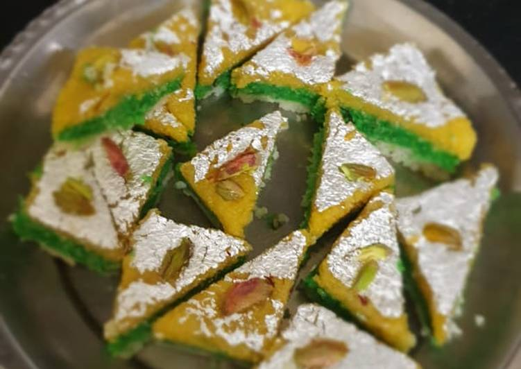 Having This 7 Superfoods Is A Good Way And Be Healthy, Kesar pista coconut burfi