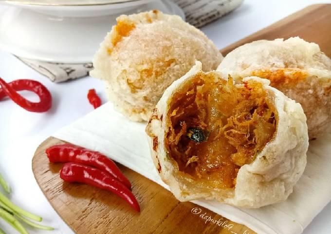 Cireng isi Ayam Balado