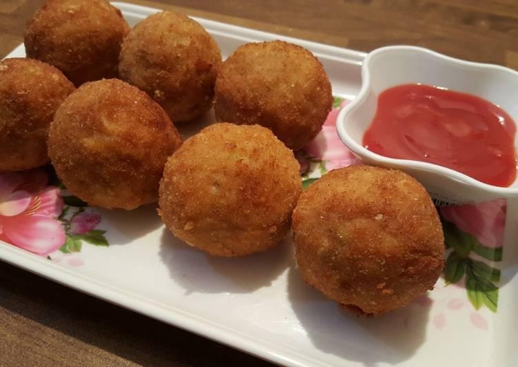 Chicken Cheese Ball - Crispy Snack Cookpad Ramadan Recipe -