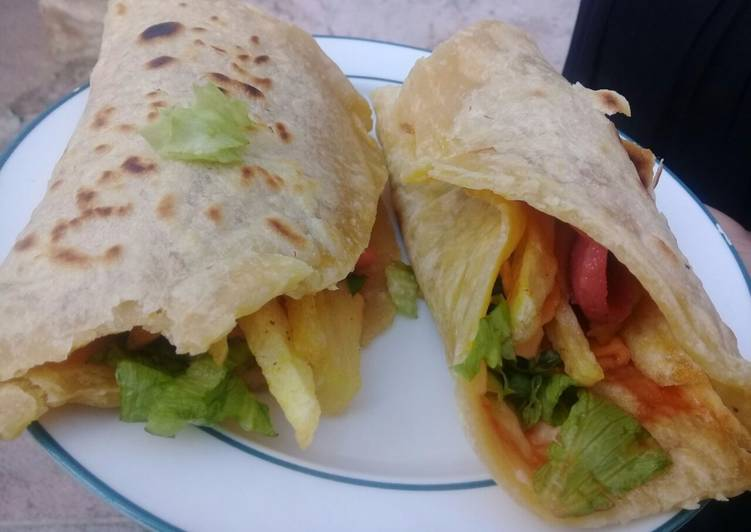 Simple Way to Prepare Perfect Homemade wrap
