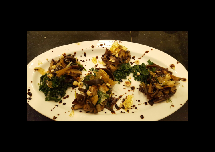 Recipe of Ultimate Three Mushroom Salad