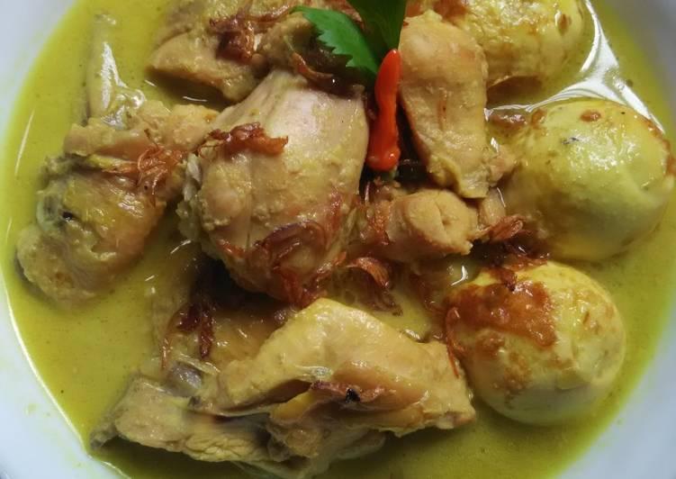 Resep Opor Ayam & Telur Sedaapp. Yang Mudah Bikin Nagih
