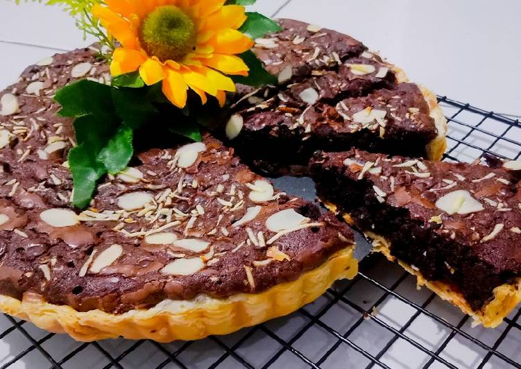 Resep Pie Pastry Brownis Paling Top