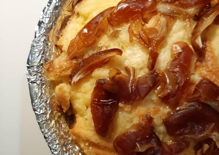 Bread Pudding Kukus Kurma Keju