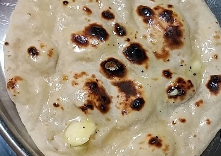 How to Prepare Speedy Butter Naan