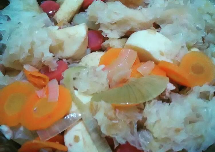Cah Tofu Jamur Es