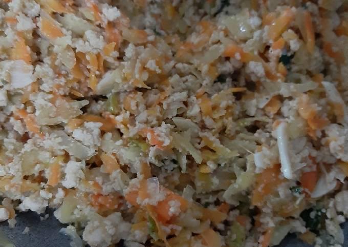 Resep Lumpia Isi Ayam Sayur Simple Oleh Dapoor Aurora Cookpad