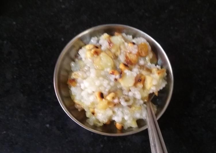 Easiest Way to Prepare Ultimate Sago khichdi