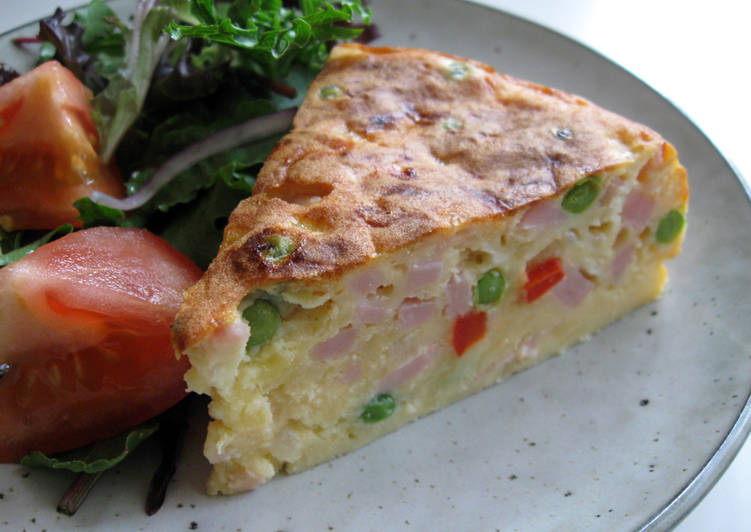 Rice Cooker Easy Quiche