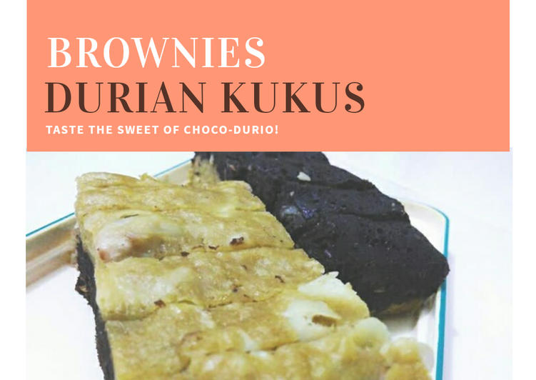 Brownies Durian Kukus