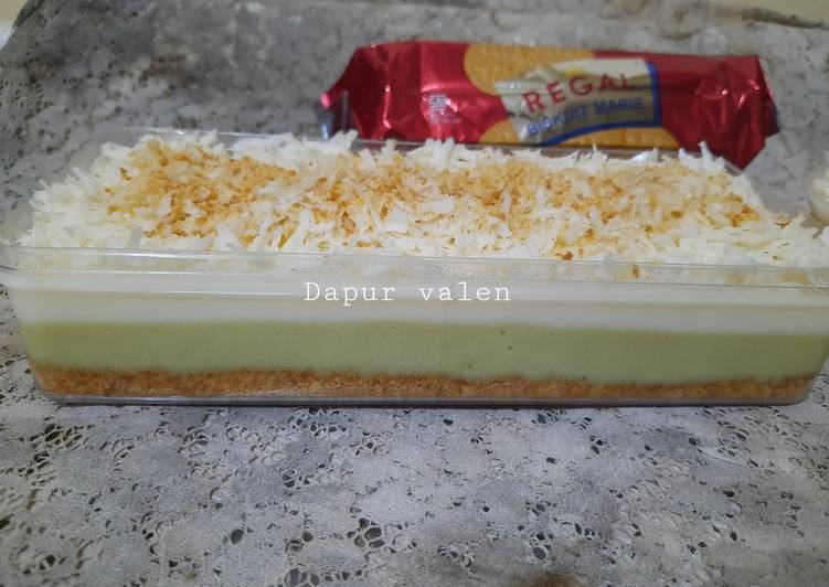 Regal matcha cheese cake