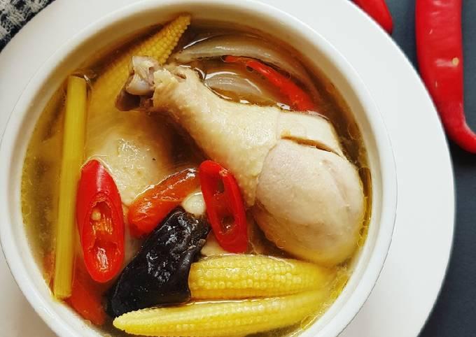 Chicken Tom yam / tom yum