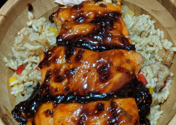 Recipe of Favorite Teriyaki salmon