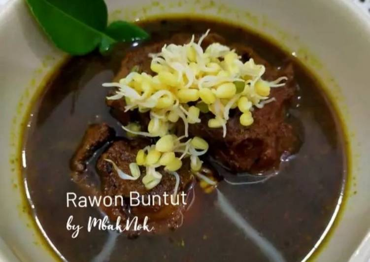 Rawon sapi (Black Beef Soup) 😁😂