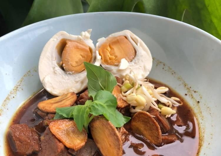 Resep Rawon daging sapi Anti Gagal