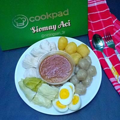 Resep Siomay Aci Oleh Nining Sari 3r Cookpad