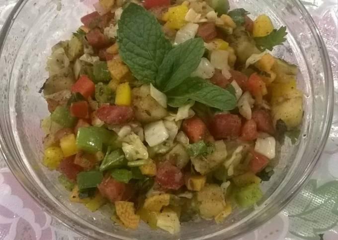 Burnt potato salad. (For fast)